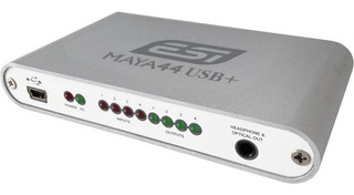 Interfase Audio Usb Esi Maya44usb+