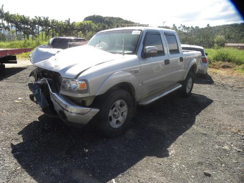 Sucata Ford Ranger 3.0 Xlt Cab. Dupla 4x4 4p 2007