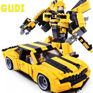 Figura De Bumblebee Transformers