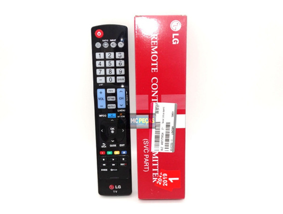 Controle Remoto LG Lcd C/ Smart My Apps Akb73756524 Original