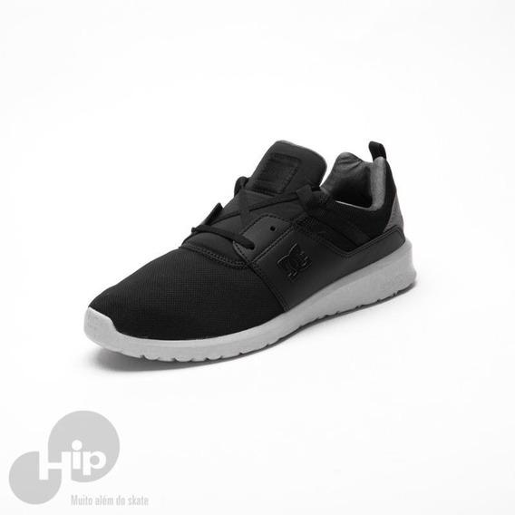 Tênis Dc Shoes Heathrow Preto/cinza Black Armor