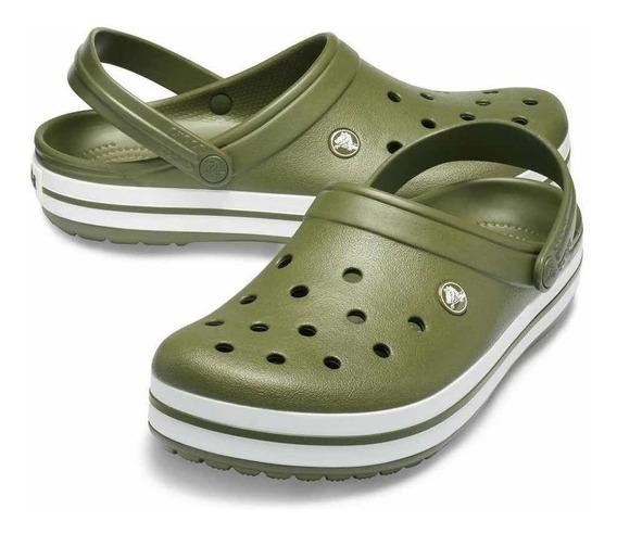 Crocs Band Adulto Green White Art 11016