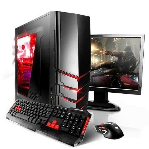 Pc Gamer Tela 19 Amd Fx 8350 5.0ghz, Rx 550 4gb, 16gb