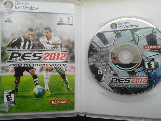 Pes 2012 Para Pc Classico Jogo Físico C Dvd Manual Serial !o