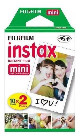 Filme Instantaneo Instax Mini Rainbow - Pack Com 20 Fotos