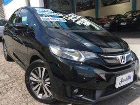 Honda Fit 1.5 Flex Exl Automático 2015 - Preto