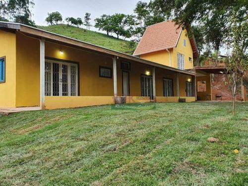 Imagem 1 de 5 de Chácara Com 2 Dormitórios À Venda, 4100 M² Por R$ 280.000 -bairro Marmelada - Natividade Da Serra/sp - Ch0620