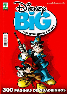 Gibi Disney Big 6. Revista Nova E Lacrada.