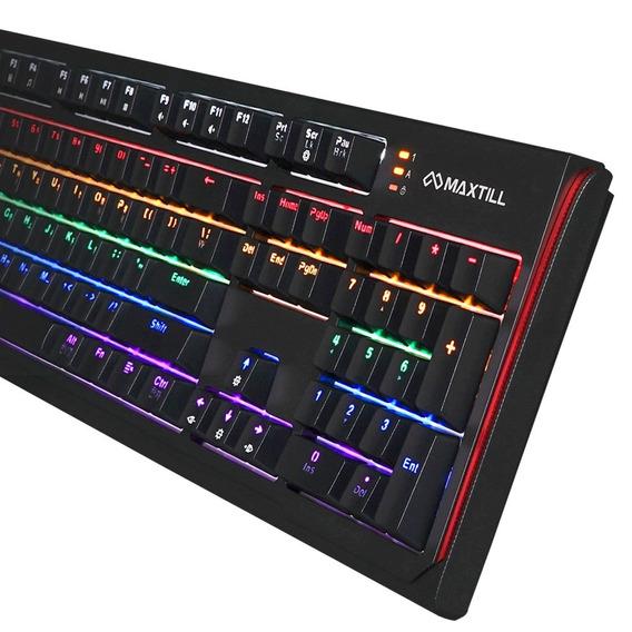 Teclado Gamer Profesional Tron G410k Pro Maxtill Original