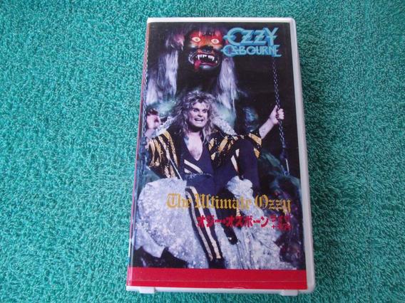 Ozzy Osbourne - The Ultimate Ozzy - Vhs / 1986 / Japan