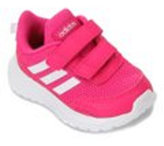 Tênis Infantil adidas Tensaur Run Velcro Feminino - Rosa E B