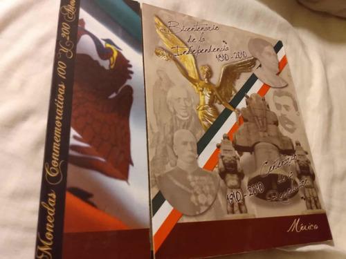 Imagen 1 de 10 de Álbum Completo Colección Monedas $5 Pesos Mexicanos Conmemor