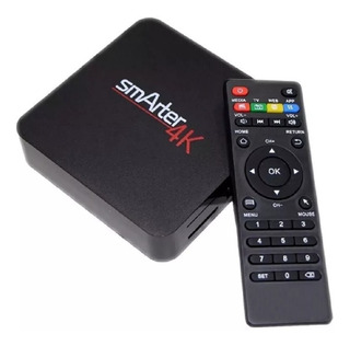 Smart Tv Box Smarter 4k 8gb Android 7.1 Hdmi Usb 4k