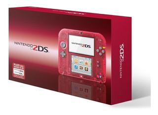 Nintendo 2ds Nuevos + 10 Juegos 3d + Garantia Financiami