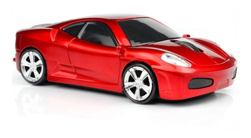 Imagen 1 de 5 de Mouse Gamer Mgbeauty Carro Deportivo 1600dpi Inalámbrico -ro