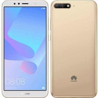 Smartphone Huawei Y6 2018 16gb 2gb Ram Gold Lacrado Com Nf
