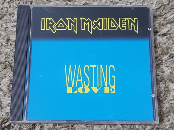 Iron Maiden Wasting Love Promo Cd Usa Fear Of The Dark Raro