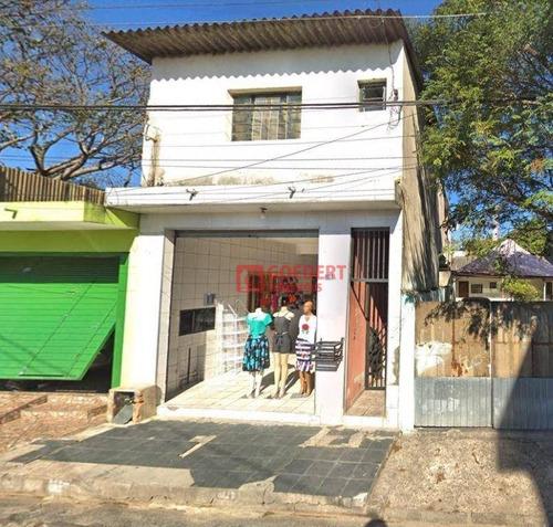 Salão Para Alugar, 60 M² Por R$ 1.100/mês - Jardim Fátima - Guarulhos/sp - Sl0187