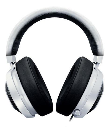 Headset Gamer Razer Kraken Pro V2 White Oval - Pc Ps4 Xone