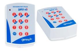 Discadora Universal Dptf-05 Pt Genno Para Alarmes E Cerca