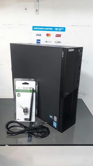 Desktop Lenovo Thinkcentre M91p Corei5 Ram 4gb Hd 320gb Wifi