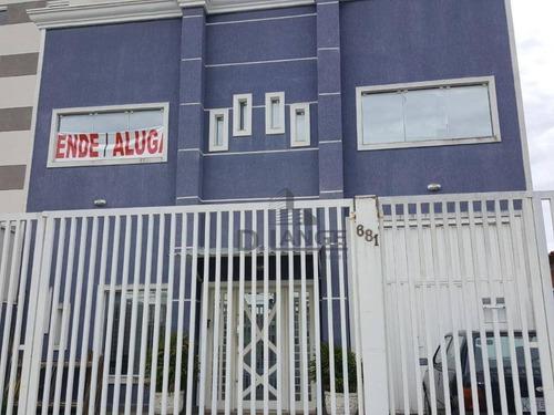 Galpão Para Alugar, 343 M² Por R$ 7.500/mês - Vila João Jorge - Campinas/sp - Ga0571