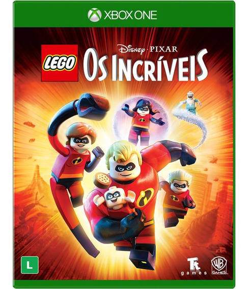 Game Lego Os Incriveis Incridibles Xbox One Midia Fisica Br
