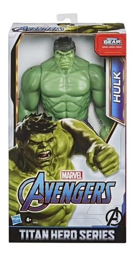 Imagen 1 de 2 de Figura Avengers Titan Hero 12 In Hulk E7475