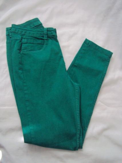 Calça Feminina Verde Marisa Basic Color Tamanho 36