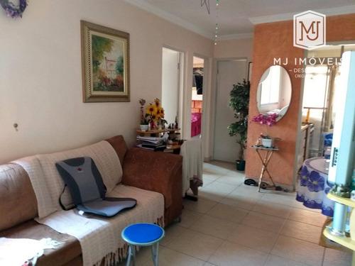 Apartamento Com 2 Dormitórios À Venda, 65 M² Por R$ 255.000,00 - Jardim Palmares (zona Sul) - São Paulo/sp - Ap0039