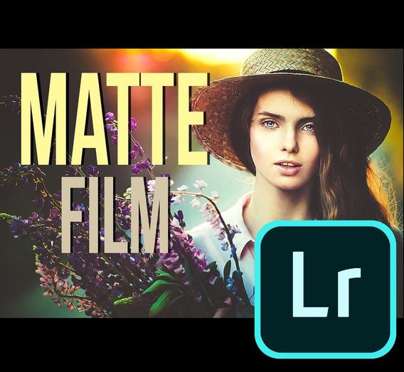 Premium Matte Film Lightroom Presets