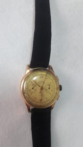 Relógio Delbana Em Ouro