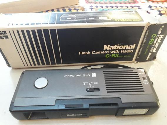 Radio E Camera Fotográfica National Flash Camera