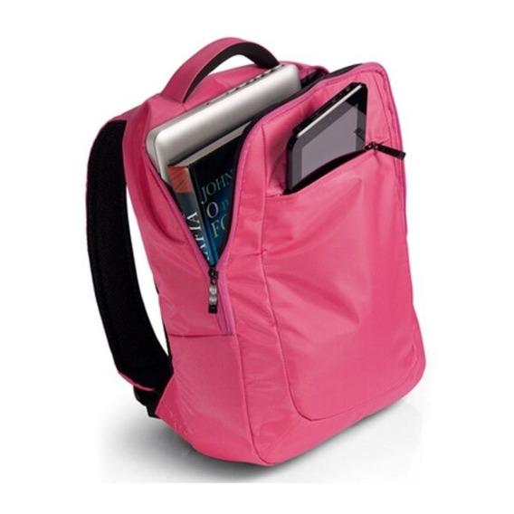 Mochila Para Notebook 14´´ Slim Escolar Bo195 Rosa Pink