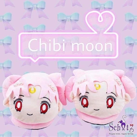Pantuflas Chibi Moon Sailor Moon Kawaii Anime