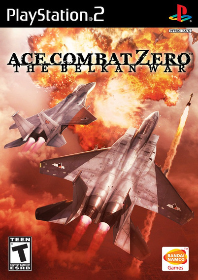 Ace Combat Zero The Belkan War Jogo Para Ps2 !!!!!!