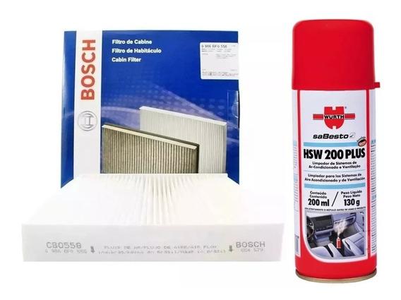 Filtro De Ar Condicionado Hb20 Hb20s Hb20x 1.0 1.6 + Wurth