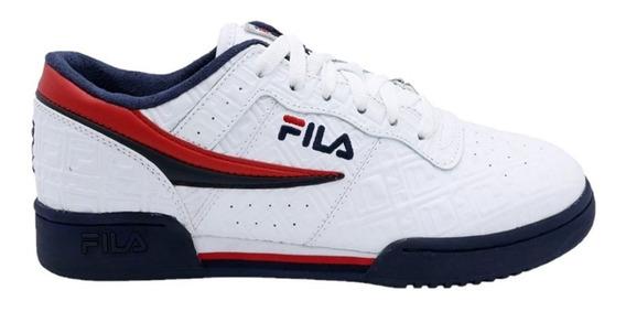 Tenis Hombre Original Fitness Blanco/azul 1fm00128 Fila