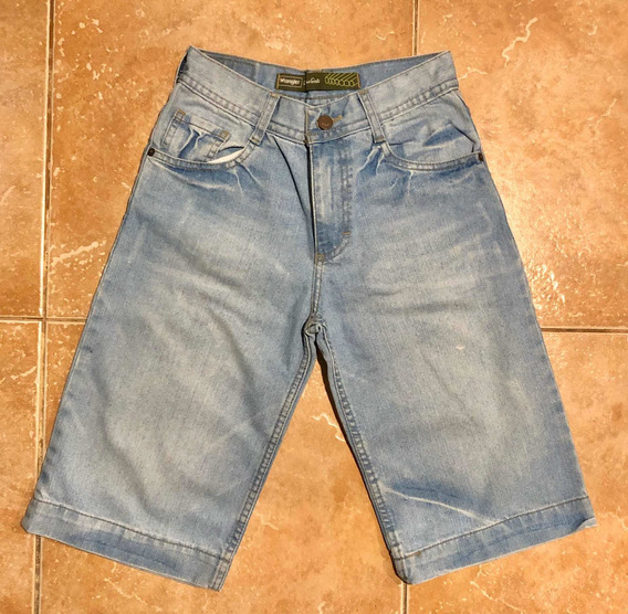 Bermuda De Jean Wrangler Originally Boys & Girls T. S