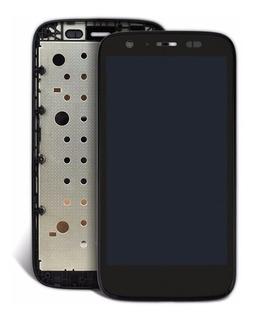 Kit Frontal Moto G4 Tela + Touch