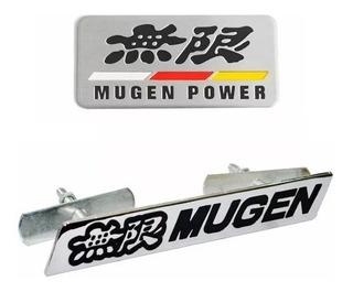 Kit Emblema Honda Mugen Power Civic Cr-v Accord Acessórios