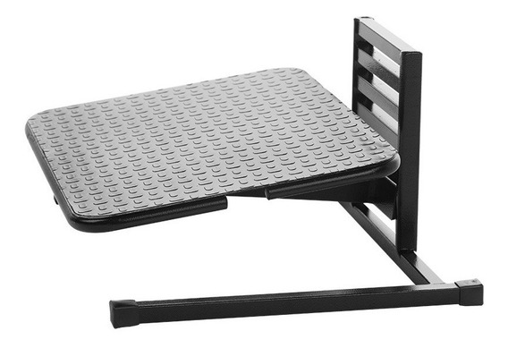 Apoio Para Os Pés Step 6 Regulável Preto 41x30cm 1 Un Air Micro