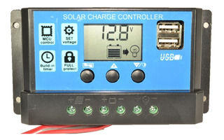 Regulador Panel Solar 20a Ltc Electronics Display Lcd + Usb