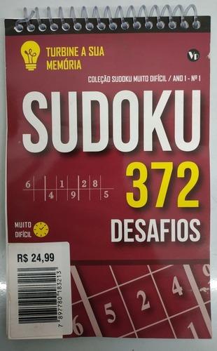 Imagem 1 de 2 de Sudoku Muito Difícil 372 Desafios - Turbine Sua Memória