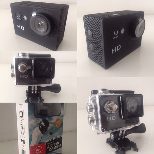 Mini Sport Camara Hd 720p Waterproof