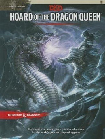 D&d 5th Hoard Of The Dragon Queen - Dungeon & Dragon