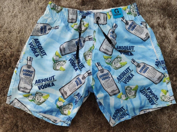 Shorts Desenho Animado Bermuda Masculina Mauricinho Bolsos