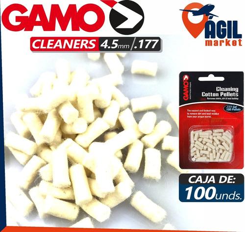 Pellets Cleaners Gamolimpieza De Cañon 0.177 4.5m Rifles