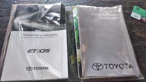 Manual Toyota Etios 2015 Original Usado