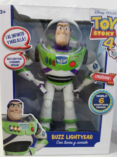 Buzz Lightyear Parlante Luces Y Sonidos Nuevo Original 16j2